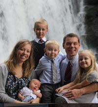 Jonathan Marks family